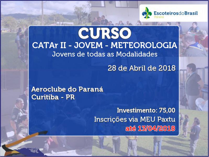 CATAr II - JOVEM - METEOROLOGIA