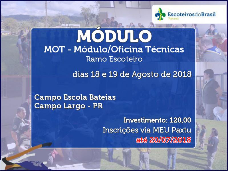 MOT - Módulo/Oficina Técnicas