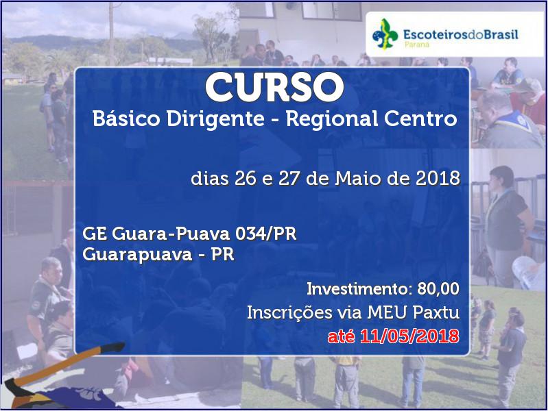 Básico Dirigente - Regional Centro