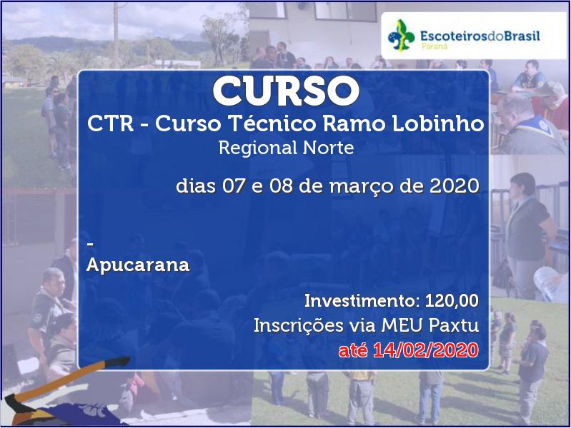 CTR - Curso Técnico Ramo Lobinho