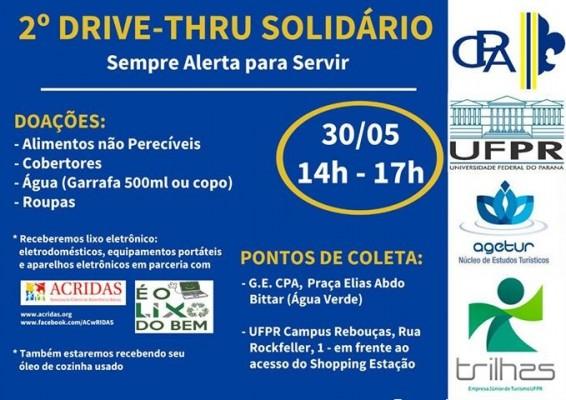 2º Drive-thru Solidário