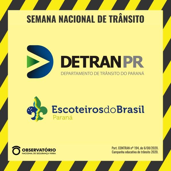 Semana Nacional do Trânsito - Gincana Escoteira