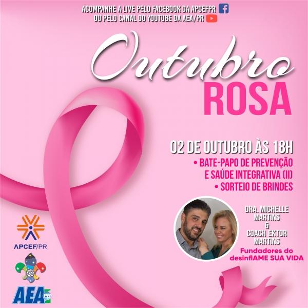 OUTUBRO ROSA 2020 - Palestra Online