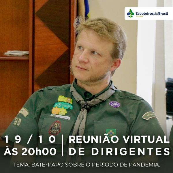 Reunião Virtual - Dirigentes