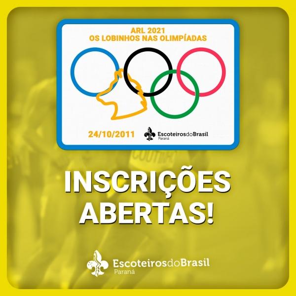 ARL 2021 - Os Lobinhos nas Olimpíadas
