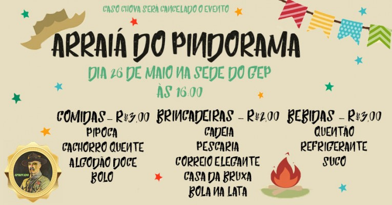 ARRAIA DO PINDORAMA
