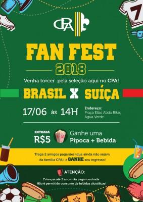 FAN FEST - JOGO DO BRASIL