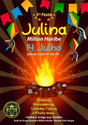 5ª Festa Julina Milton Horibe