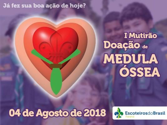 1º Mutirão de doação de Medula Óssea