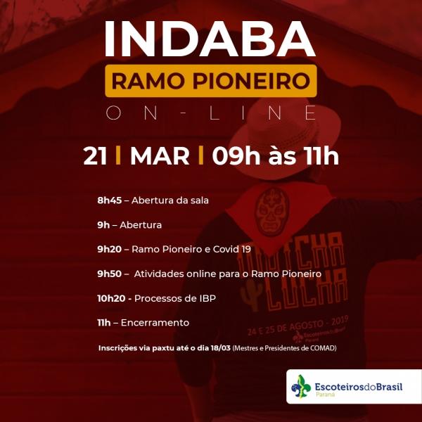INDABA - RAMO PIONEIRO