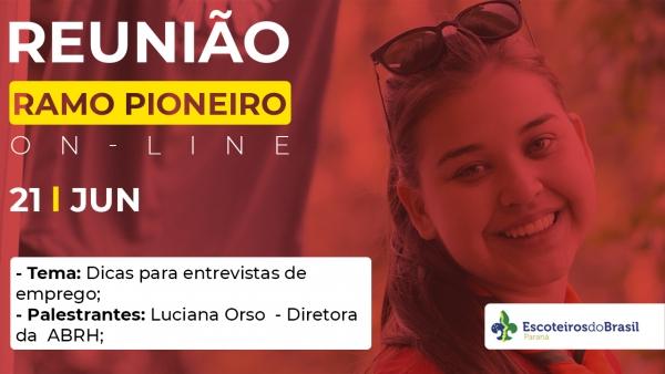 Encontro Mensal Ramo Pioneiro - 21/06/21