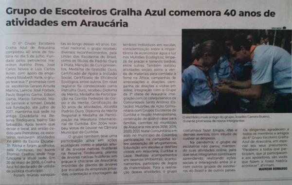 GE Gralha Azul 006-PR