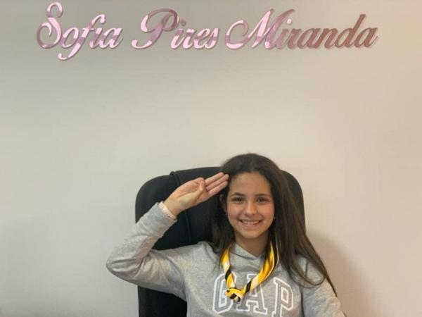 Promessa Escoteira - Sofia Pires Miranda GE Guara Puava 034/PR