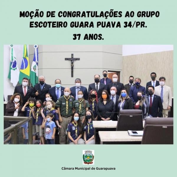 Moção de Congratulações Concedida ao GEGP 034/PR