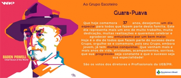 GE Guara Puava 034/PR Completa 37 Anos