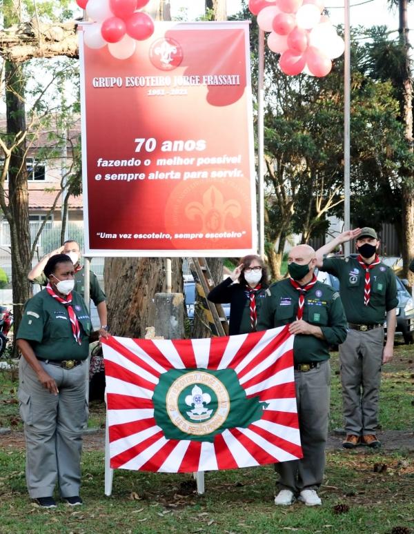 70 anos do Grupo Escoteiro Jorge Frassati - GEJF 002/PR