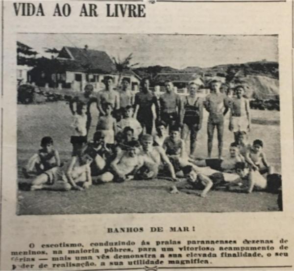 Boletim Histórico 14 - COLÔNIAS DE FÉRIAS DOS ESCOTEIROS PARANAENSES