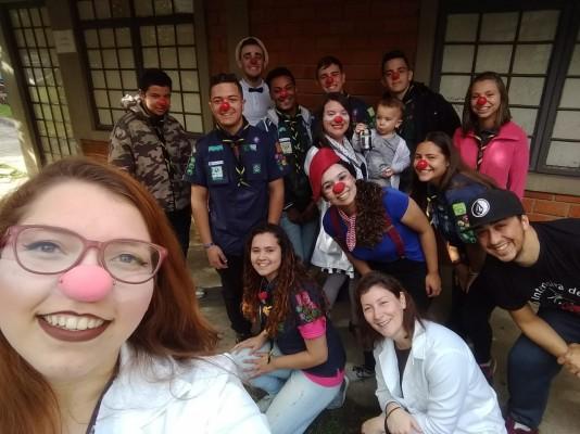 GE Milton Horibe 166 PR - visita Hospital Evangélico de Curitiba