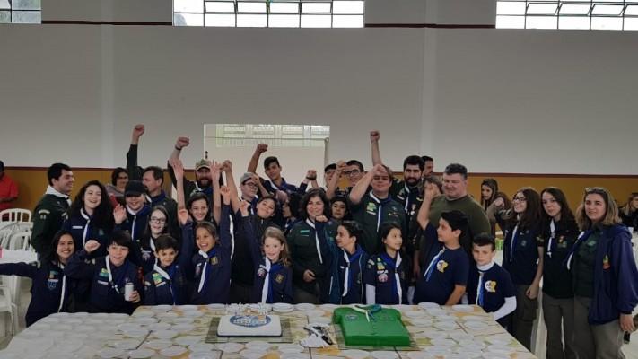 Grupo Escoteiro Campos Gerais - 20 anos de fundação