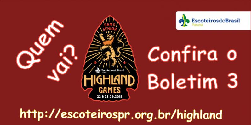 Highland Games - Quem vai?