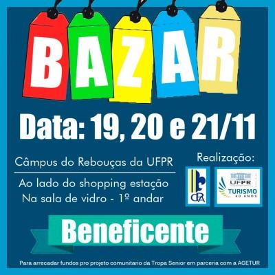 Bazar Beneficente (Desafio Comunitário)