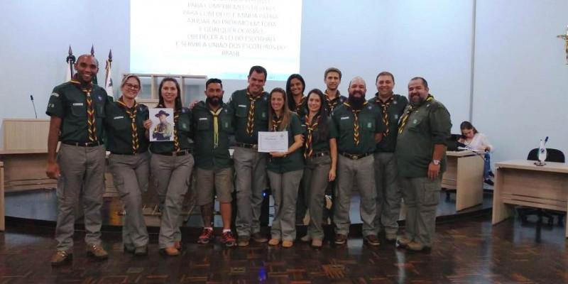 Fundação do Grupo Escoteiro Ibituruna