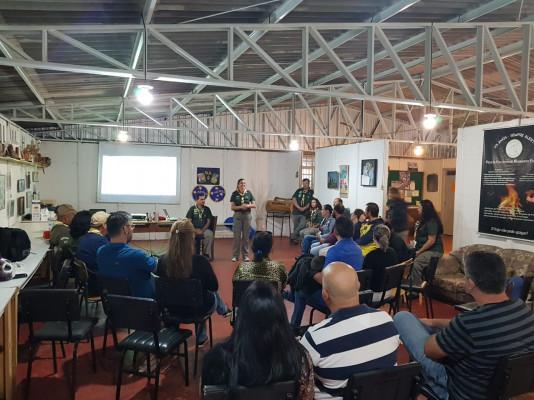 Início das Atividades de 2019 no Grupo Escoteiro Guara Puava  34PR