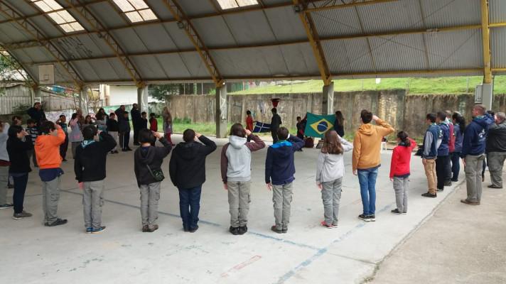3ª EDUCAÇÃO ESCOTEIRA - GRUPO ESCOTEIRO CRISTÓVÃO COLOMBO 110/PR
