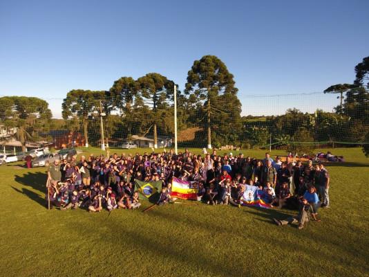 1ª Acampamento de Grupos Escoteiros Quadrangulares – PR