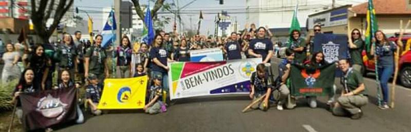 Desfile Cívico Grupo Escoteito São Félix