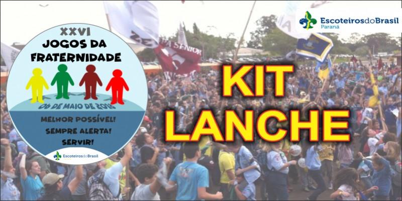 XXVI JF 2018 - Kit Lanche