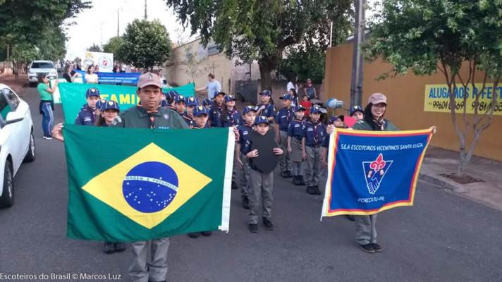 Desfiles Cívicos na Regional Norte