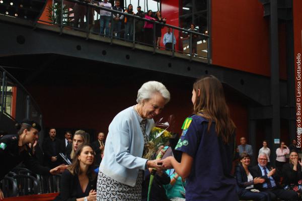 Recepção da Princesa Benedikte da Dinamarca em Curitiba