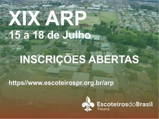 XIX ARP - Boletim 1