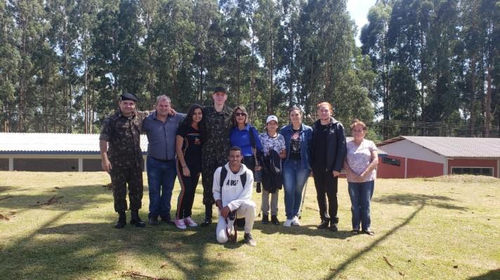 Escoteiro do G.E. Guara Puava 34/PR entra para o Exército Brasileiro