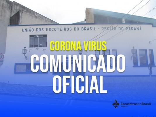 Comunicado Oficial - UEB/PR