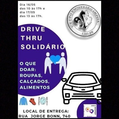 Drive-thru solidário GE Impisa-128° Pr