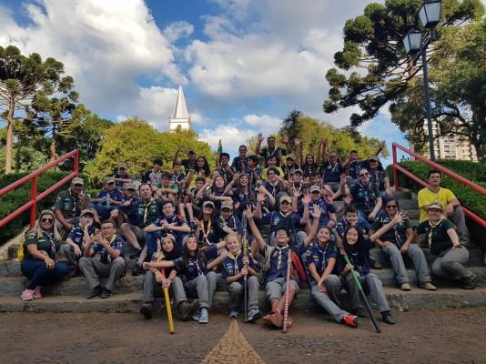 Comemoração Dia do Escoteiro em Guarapuava