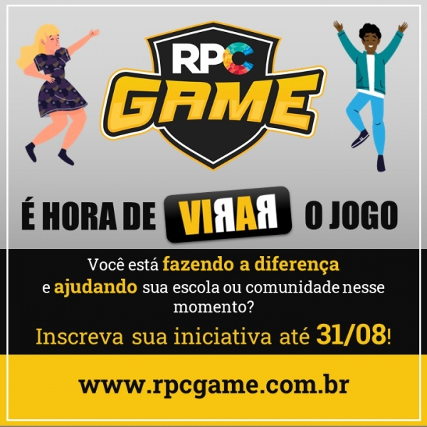 RPC GAME: É hora de virar o jogo!