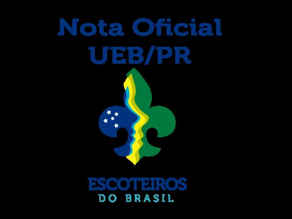 Nota Oficial - UEB/PR