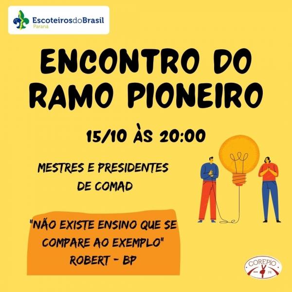 ENCONTRO DO RAMO PIONEIRO 2020