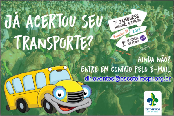 Transporte Jamboree 2018