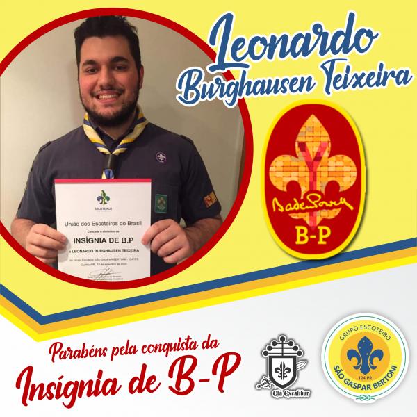 G.E. São Gaspar Bertoni celebra novo Insígnia de B-P!