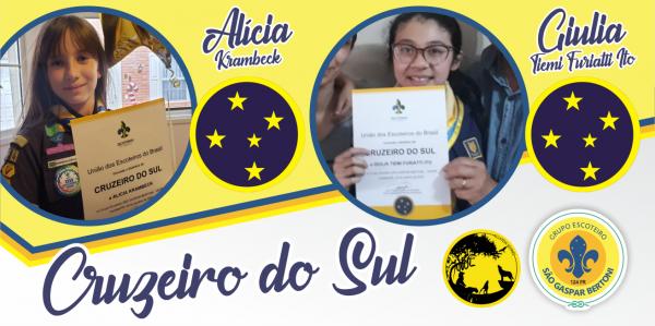 Grupo Escoteiro São Gaspar Bertoni comemora Cruzeiros do Sul