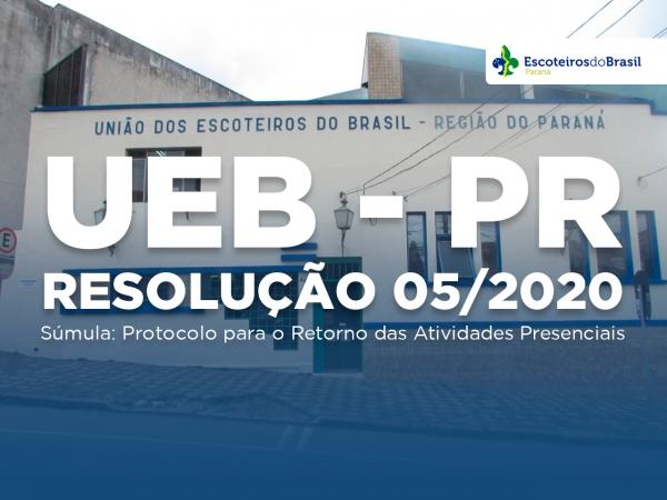 Resolução UEB Nº 05/2020