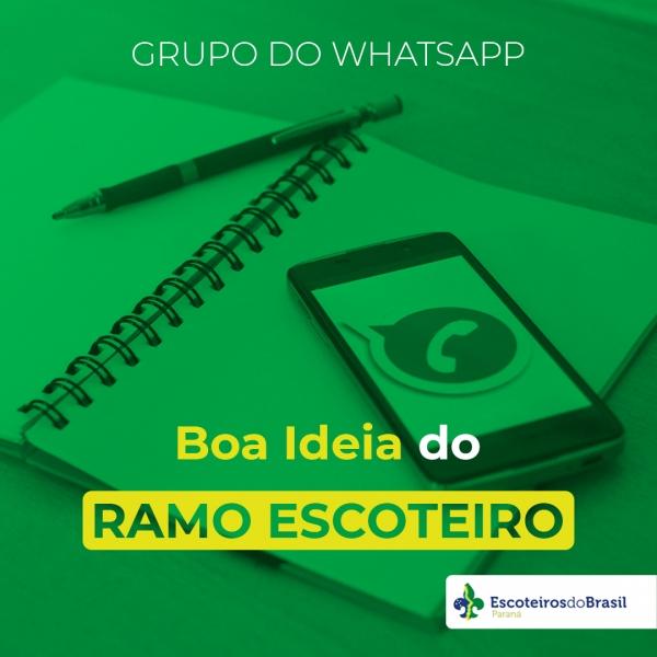 BOA IDEIA DO RAMO ESCOTEIRO